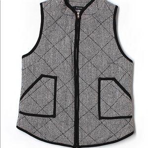 41 Hawthorn Herringbone Vest size L